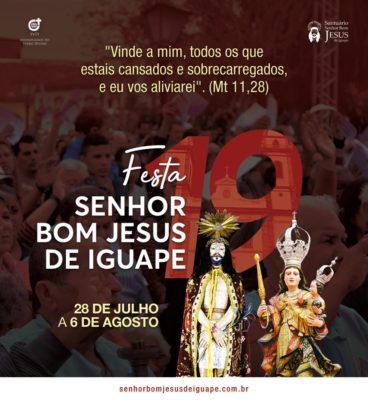 Festa do Senhor Bom Jesus de Iguape 2019