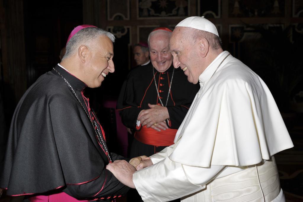 """""""Não é possível um Bispo que não caminhe junto com o Papa"""""""