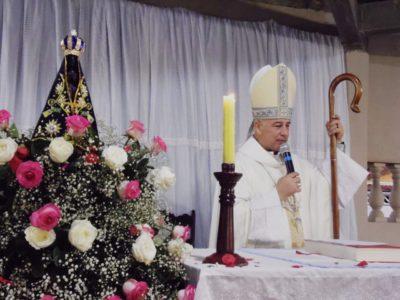 Dom Manoel preside Santa Missa em louvor a Nossa Senhora Aparecida em Jacupiranga