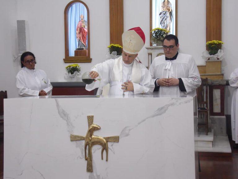 Paróquia Nossa Senhora da Conceição tem altar dedicado