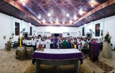 Pedro de Toledo recebe visita pastoral