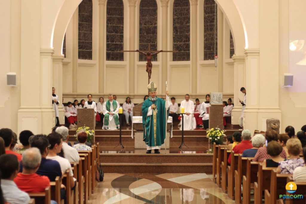 Santa Missa marca o Jubileu de Safira da Diocese de Registro