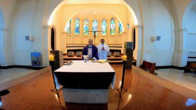 A proximidade da Igreja no Vale do Ribeira: missas são transmitidas diariamente