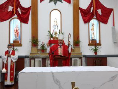 Em Jacupiranga, Festa do Divino é celebrada com Missa presidida por Dom Manoel