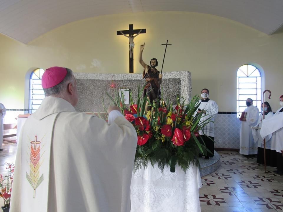 """""""João Batista, para preparar o caminho do Senhor, quis estar comprometido com a justiça de Deus"""", afirma Dom Manoel"""