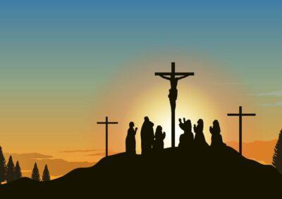 Paixão de Cristo ao vivo, em cores